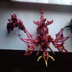 Broken Maxus Dragonoid and Dragonoid Colossus