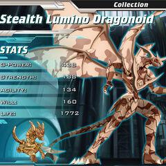 Stealth Lumino Dragonoid