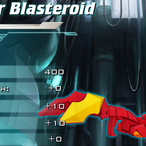 Blasteroid's ability on Bakugan Dimensions