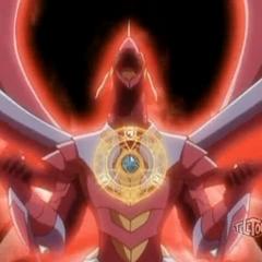 Titanium Dragonoid about to summon Zenthon Titan