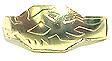 Sanzu Metal Cross 01 Gold