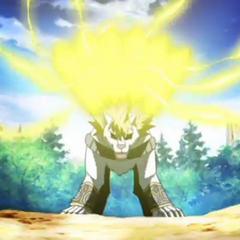 Lumagrowl using ability <b>Blade Fantasma</b>