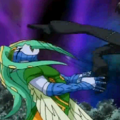 Hairadee being kicked by Shun