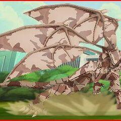 Stealth Lumino Dragonoid Attacking.