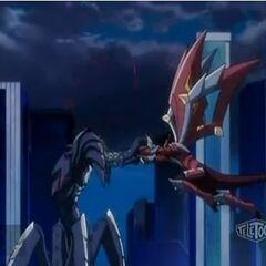 Drago vs Razenoid (Dharak)