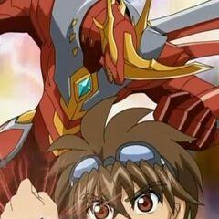 Dan Kuso and Titanium Dragonoid