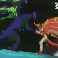 Blitz Drago vs Dharak