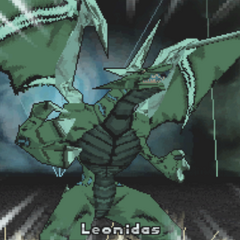 Ventus Leonidas in Bakugan form