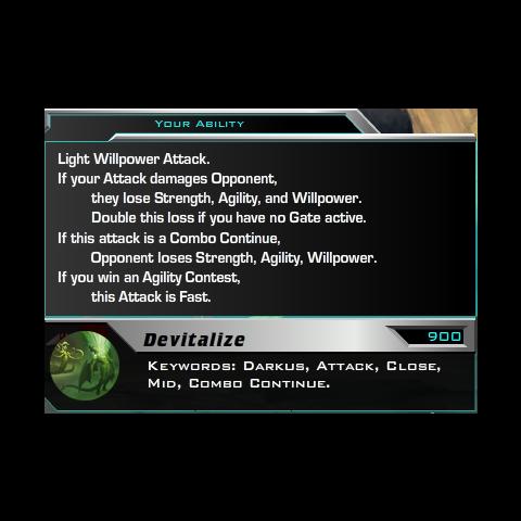 Devitalize's description.
