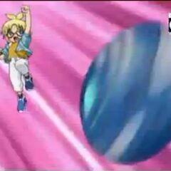 Marucho throwing Radizen