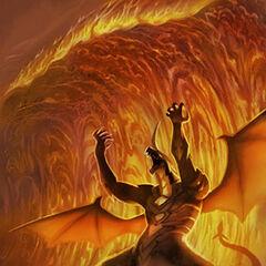 Lava Wave - Attack Card