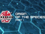 Origin of the Species Part 1