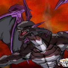 Darkus Leonidas in Bakugan form