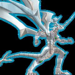 Clear Titanium Dragonoid