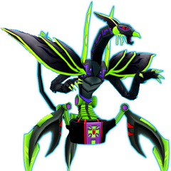 Raptoroid (Thewolf1 created the name and idea for him as my Bakugan in one of his stories, so I decided to make the picture.)