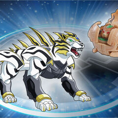 Tigrerra mit Tigerra in Bakuganform