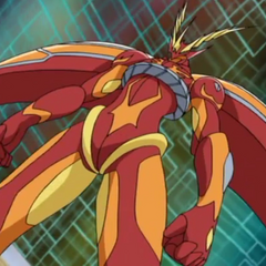 Neo Ziperator in Bakugan form