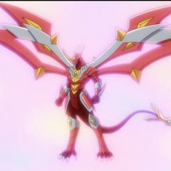 Titanium Dragonoid after evolving from Blitz Dragonoid