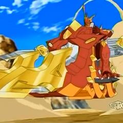 Drago Riding Raytheus