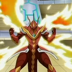 Drago using <b>Cross Fire</b>