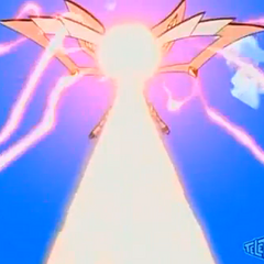 Drago using <b>Dragon Force Striker</b>