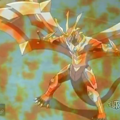 Titanium Dragonoid using ability <b>Meteor Screen</b>