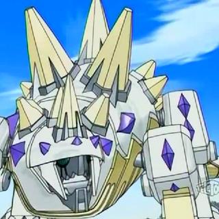 Hexstar in Bakugan form