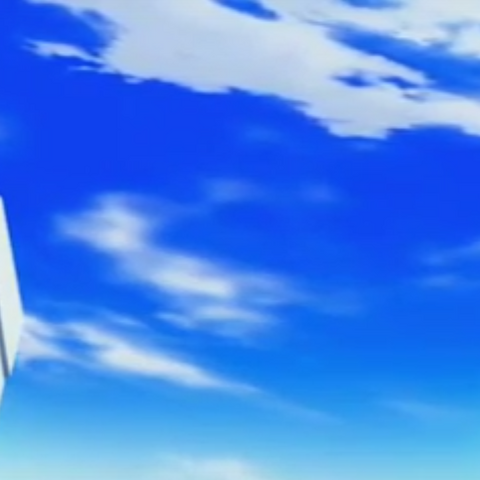 Before Masquerade's battle against Exedra, a picture of sky has shown.