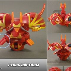 Unfinished paintjob Pyrus Raptorix