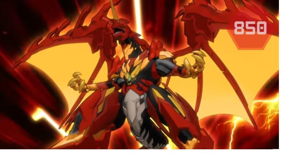 Bakugan Hyper Dragonoid Ultra