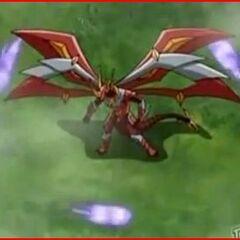 Horridian using ability <b>Variant Commando</b> on Titanium Dragonoid