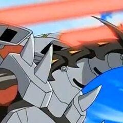Helios MK2 using ability <b>Chaos Power Cannon</b>