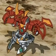 Titanium Dragonoid in open ball form