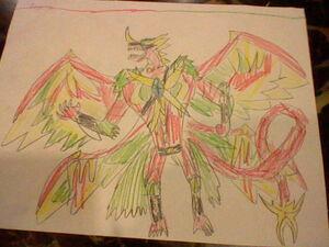 FireStorm Hawk Dragonoid 001
