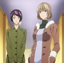 Aoki i Iwase na spotkaniu noworocznym