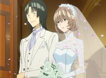 Ślub Aoki i Hiramaru