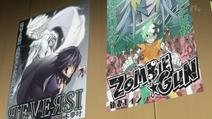 Plakaty Reversi i Zombie Gun