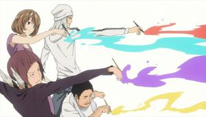 Genjitsu to iu Na no Kaibutsu to Tatakau Mono Tachi