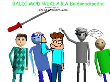 Baldi Mod Wiki | FANDOM powered by Wikia