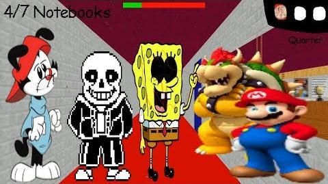 Wakko warner's basics in how to be silly and cool v2 - Baldi's Basics V1.4 Mod