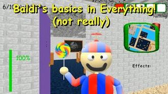 Baldi's basics in Everything! (not really) - Baldi's Basics 1.4.3 decompiled mod