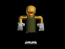 He stand