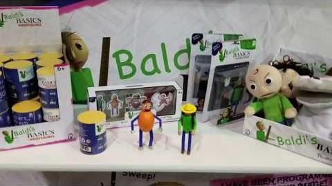 Baldi's Basics Official TOYS!!! figures & Plush Line up!! Phat mojo!