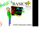 Baldi's Basics Plus Early Access