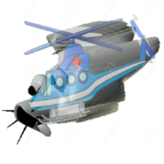 CloudyCopterHelicopter