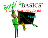 Baldi's Basics Birthday Bash Cover