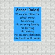 SchoolRulesPoster