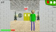Baldi with a quarter