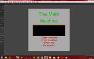 Math Machine Anim8or version