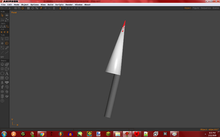 CorruptFile0's Knife with Blood Anim8or